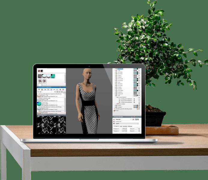 3D моделирование одежды Vidya Assyst