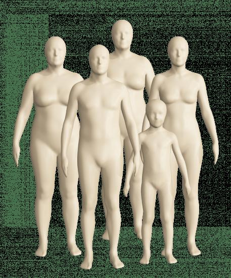 3D сканирование человека