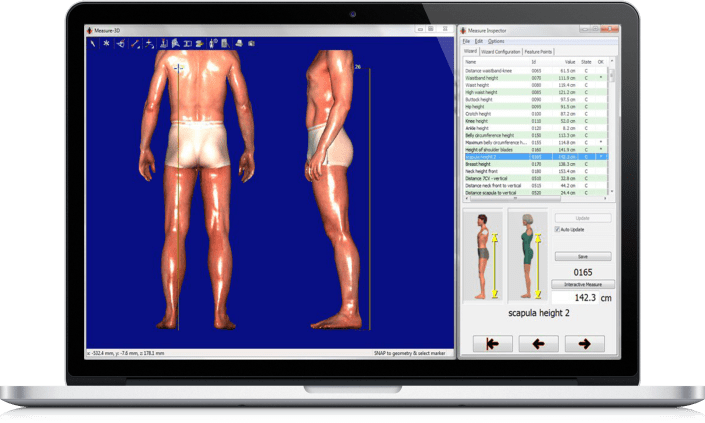 ПО для 3D сканеров тела Anthroscan Assyst