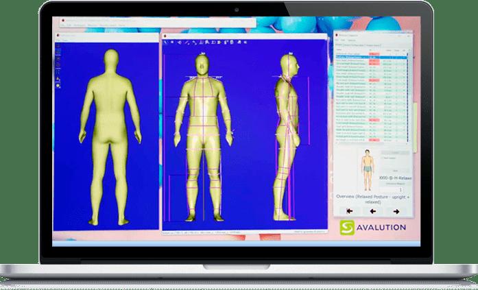 3D сканер тела AVAone Assyst